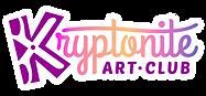 Kryptonite Art Club_ LOGO_RGB (white out
