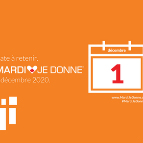 Mardi Je Donne 2020 / Giving Tuesday 2020