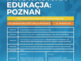 Konferencja Innowacyjna Edukacja: Poznań