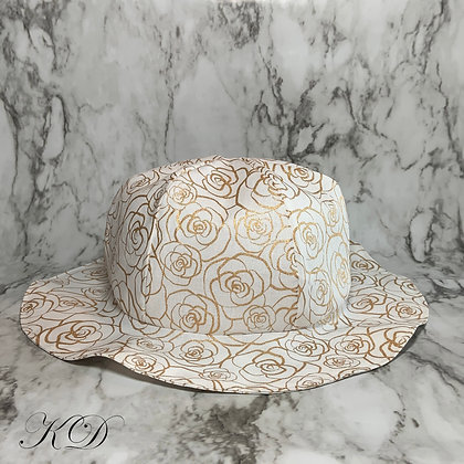 Golden Roses Toddler Hat
