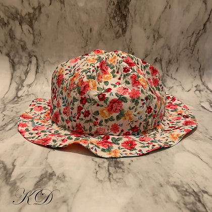 Floral Baby Hat