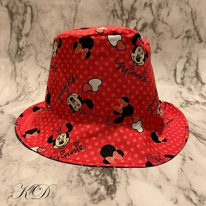 Valentine's Minnie Mouse Baby Bucket Hat