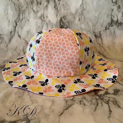 Bumblebee Honeycomb Toddler Hat