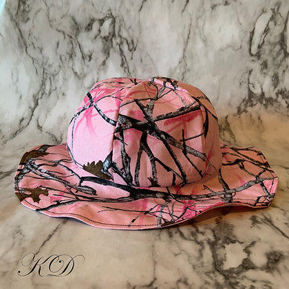 Pink Camouflage Toddler Hat