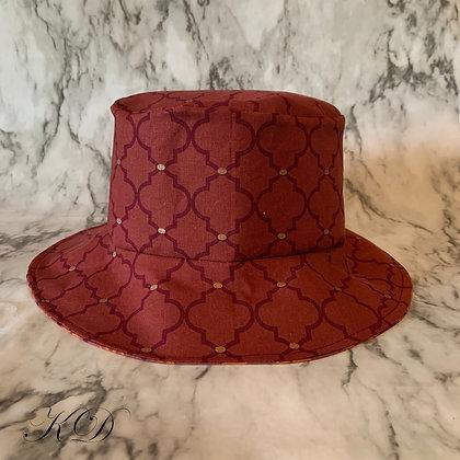 Maroon Toddler Bucket Hat