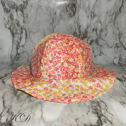 Ombre Floral Baby Hat