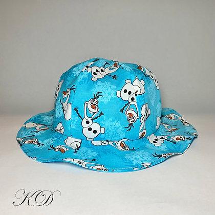 Bright Blue Olaf Baby Hat