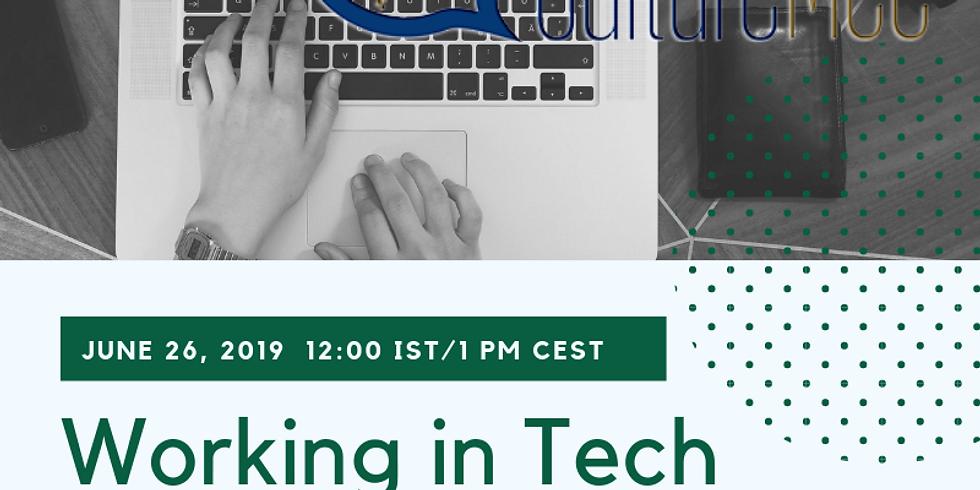WEBINAR: Working in Tech & Culture