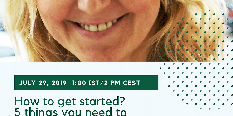 Webinar: How to get started? 5 things you need to know to become an Expert in the Intercultural FIeld