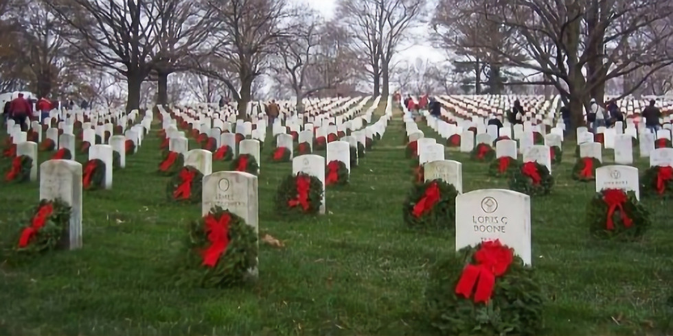 Place wreaths at Arlington National Cemetery