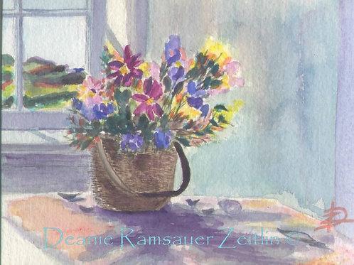 WC Flowers - Watercolor