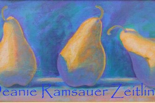 Pears - Acrylics