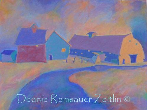 Barns with Color - Acrylics