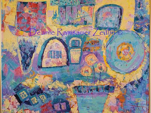 Home Sweet Home - Acrylics