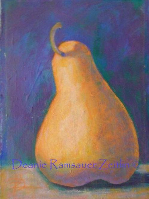 Pear - Acrylics