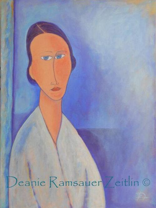 Madame Zborowska - Oils