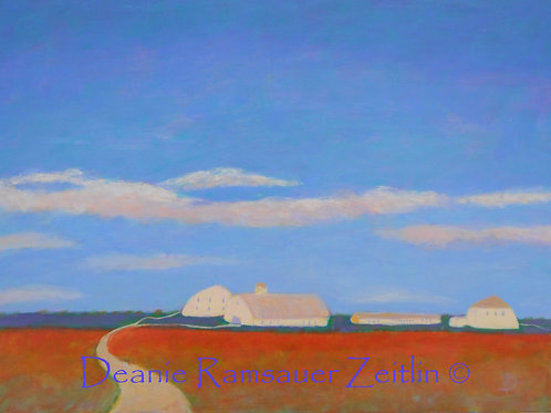 Sky Blue - Acrylics
