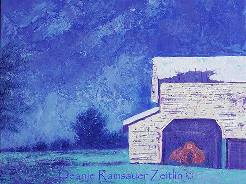 Big White Barn - Acrylics