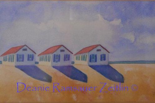Cape Cod III - Watercolor