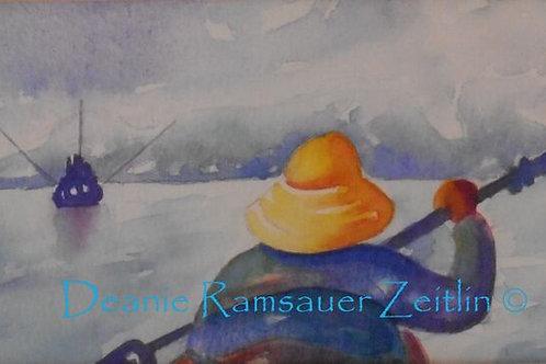 The Calm - Watercolor
