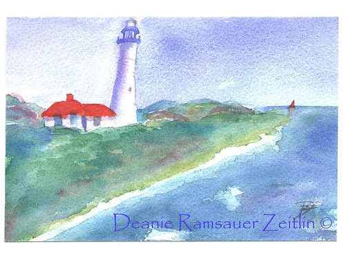 Light House - Watercolor