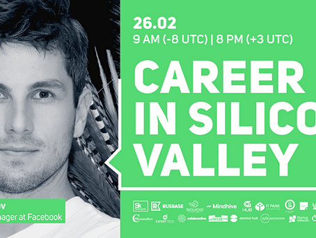 [New Event] CAREER IN SILICON VALLEY