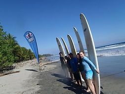 learn to surf costa rica