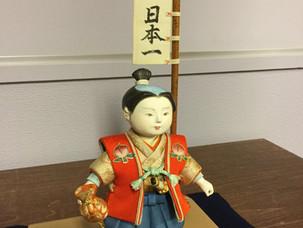 伝統工芸人形の展示 第3回 「桃太郎」