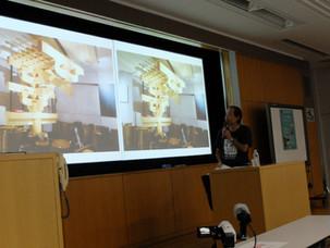 館長、早稲田大学で講演
