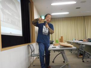 木組み博物館 館長が語る、講演会の様子