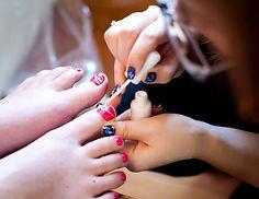 pedicure, manicure, nails, shellac