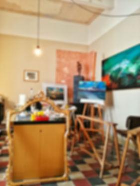 Casa vacanze + galleria d'arte + laboratorio d'arte ed artigianato. Turismo sostenibile e relazionale in Sicilia, a Balestrate tra Palermo e Trapani.