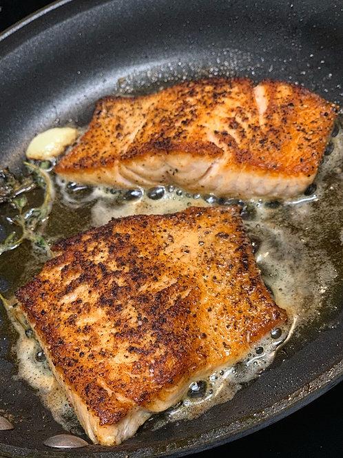 Crispy Skin Cajun Salmon Recipe