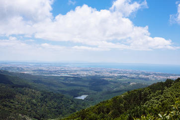 View from Sintra mountains