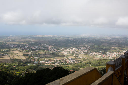 View from the Pena Palace