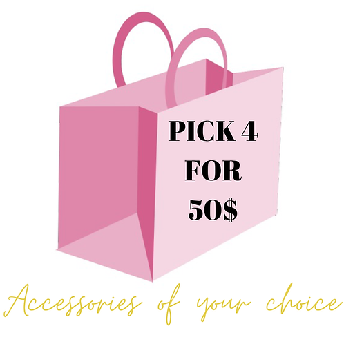 Pick Four Accessory Items