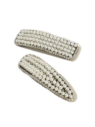 Pearl Girl Hairpins