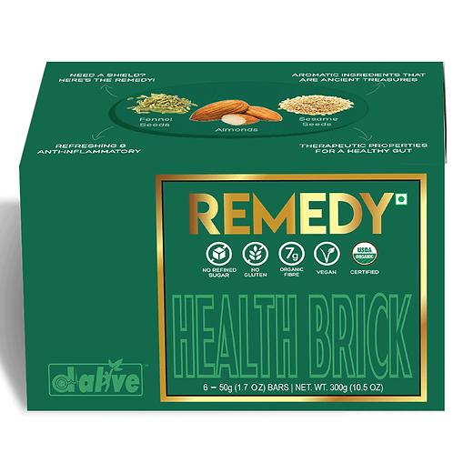 Organic Health Brick - REMEDY, 300g