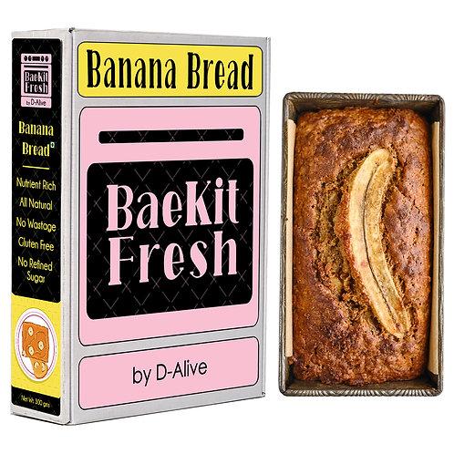 Banana Bread- Nutrient Rich, No Refined Sugar, Gluten Free & All Natural