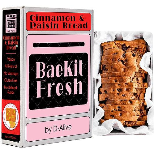 Cinnamon & Raisin Bread- Vegan, No Refined Sugar, Gluten Free & All Natural