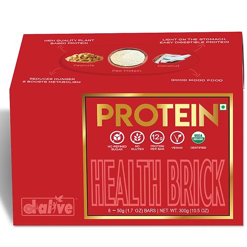 Organic Health Brick - PROTEIN, 300g