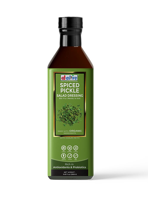 d alive Organic Spiced Pickle Salad Dressing - 270g