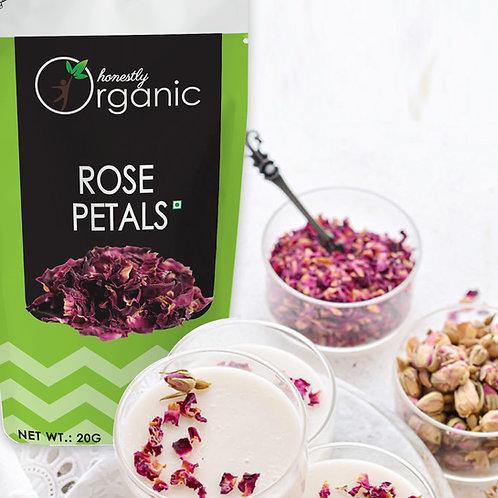 Honeslty Organic Rose Petals /  Gulab Patti