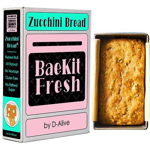 Zucchini Bread- Nutrient Rich, No Refined Sugar, Gluten Free & All Natural