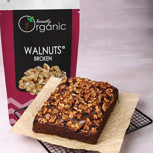 Honeslty Organic Walnut Kernels - Broken  / Akharot Tukra