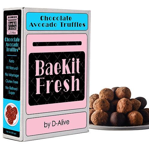 Chocolate Avocado Truffles-Keto, Vegan, Gluten Free, No Wastage,  All Natrual &