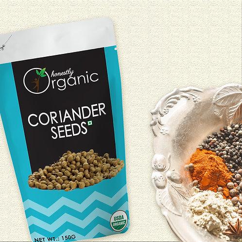 Honeslty Organic Coriander Seeds/ Dhaniya Beej