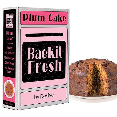 Plum Cake- Vegan, Rich In Antioxidants, Gluten Free, All Natural