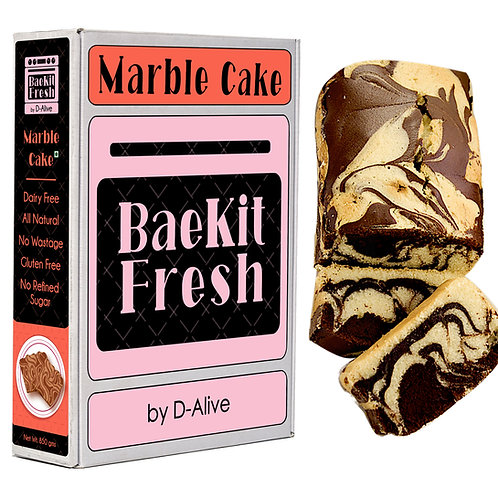 Marble Cake- Dairy Free, Gluten Free, No Refined Sugar & All Natural