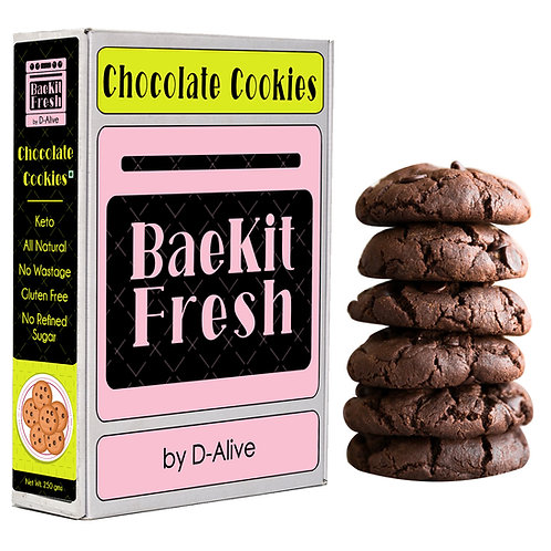 Chocolate Cookies- Keto, No Refined Sugar Gluten Free All Natrual